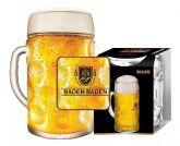 Caneca Cerveja Chopp Alemã Copo Mass Vidro Baden Baden 610ml