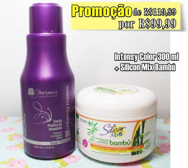Promoção.Kit Intensy color 300ml + Silicon Mix Bambú