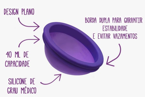 Disco Menstrual Violeta Cup Duo - Violeta