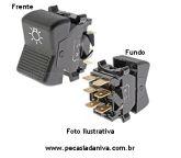 Botão ou Interruptor do Farol Laika (Usado) Ref. 0689