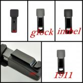 Porta carregador de polimero velado GLOCK (9 MM, .40 E 380)