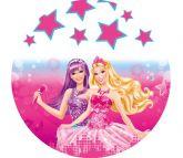 Papel Arroz Barbie Redondo 007 1un