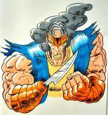 Arte original de ilustração da personagem
