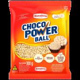 Choco Power Ball Micro Branco Mavalério 300g 1un
