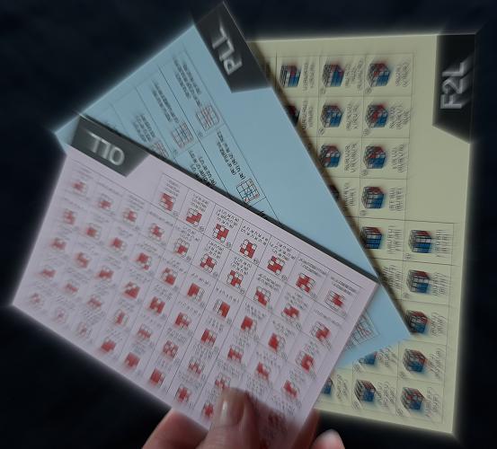 CFOP Cards APRENDA A RESOLVER O CUBO MÁGICO