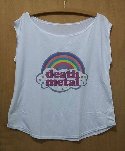 Blusa Death Metal Cute