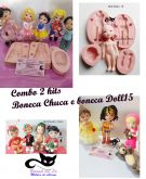 Combo com 02 kits boneca Chuca e Doll 15