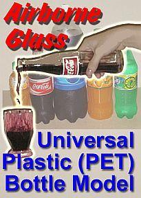Airborne Glass (copo que flutua) para garrafa  #482