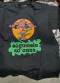 Camisa - Cogumelo Records 40 Anos -  Preta