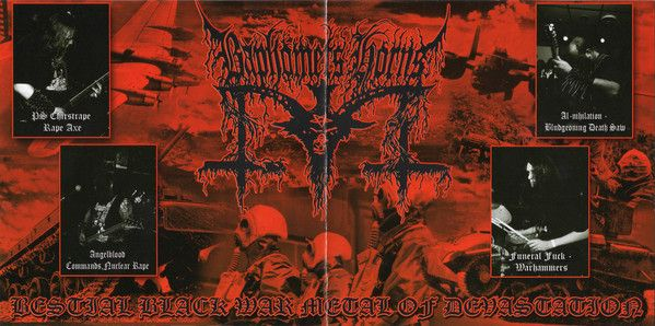 BAPHOMETS HORNS - Atomik Warfuck Extermination - CD