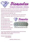 Jogo 7 lixas diamantadas + suporte + adaptador furadeira