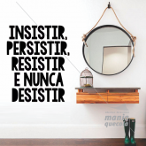 .NUNCA DESISTIR