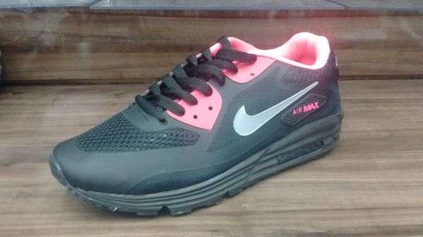 online store 388c8 0ba47 Tênis Nike Air Max 90 PretoRosa