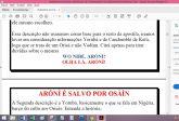APOSTILA ORIXÁ ARÓNÍ - O GUARDIÃO DOS SEGREDOS DAS MATAS