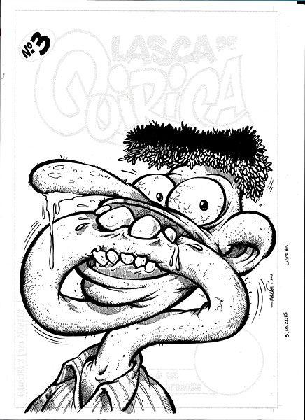 Lasca de Quirica #3 - Original capa