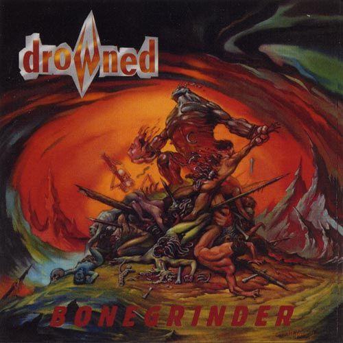 CD - Drowned - Bonegrinder