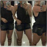 short  boxer jeans onça