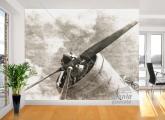 Adesivo de Parede Avião Histórico