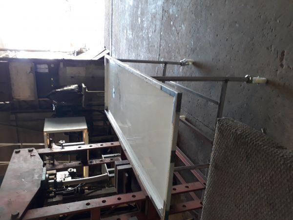 mesa necropsia 1,90 x 60 com balde