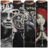Camisetas Armani kit 10 pçs