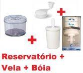 Reservatório Em Acrilico Para Filtros De Agua 6L Cma
