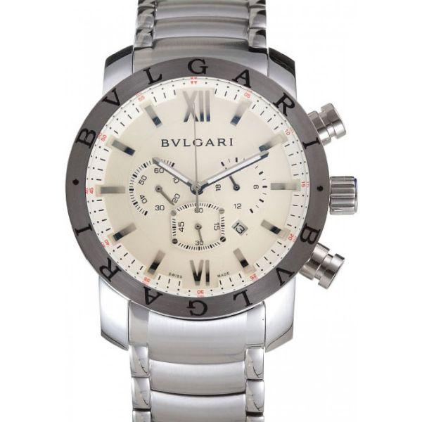 fe972857725 Relógio Bvlgari Iron Man Prata - Imperius Shop