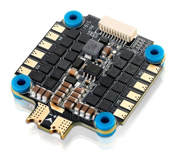 ESC 4 em 1 HobbyWing XRotor 45A BLHeli_32 / DShot1200 c/ BEC e Sensor de Corrente (Suporta até 6S)