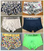 Cuecas lisa e estampadas Calvin Klein  QUALIDADE DE ORIGINAL - 50 peças