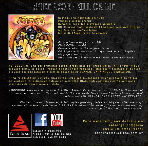 CD - Agressor - Kill Or Die