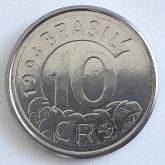10 Cruzeiros Reais 1994 SOB/FC