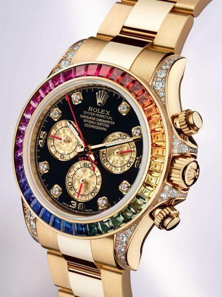 cbefd4a2b3c Réplica de Relógio rolex-cosmograph-daytona-rainbow - Relogio24h