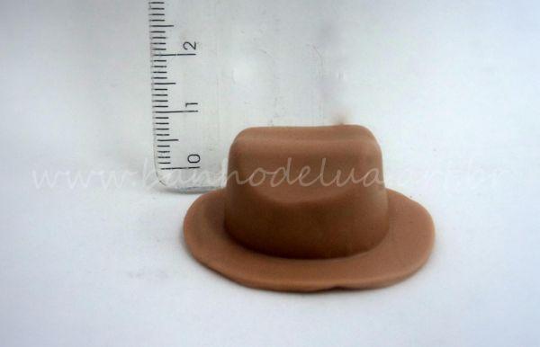 85727d5d98c94 Molde de silicone chapéu - Banho de Lua