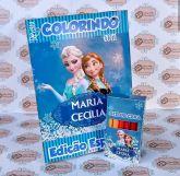 Kit para colorir Frozen