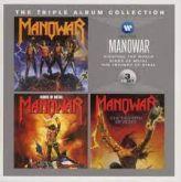 Box - Manowar - The Triple Album Collection peça unica importadda