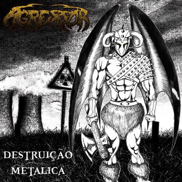 AGRESSOR - Destruição Metálica (CD)