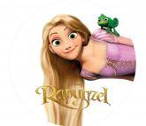 Papel Arroz Rapunzel Redondo 007 1un