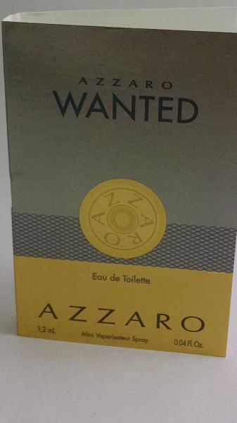 Amostra Perfume Azzaro Wanted  1,2ml edt
