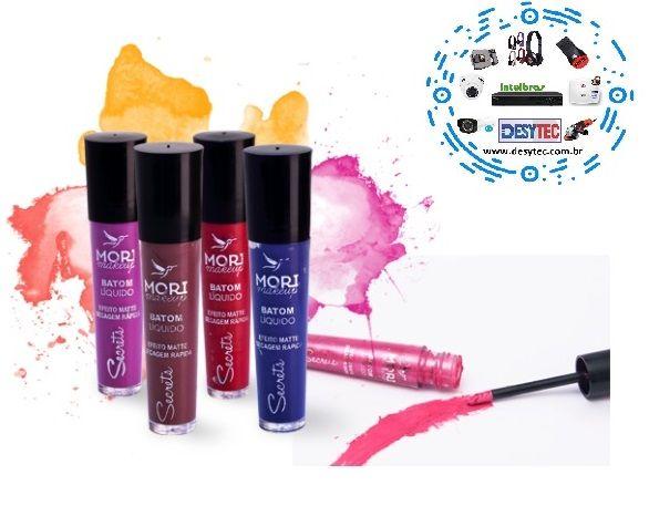 Batom Líquido Mori Makeup KIT 5