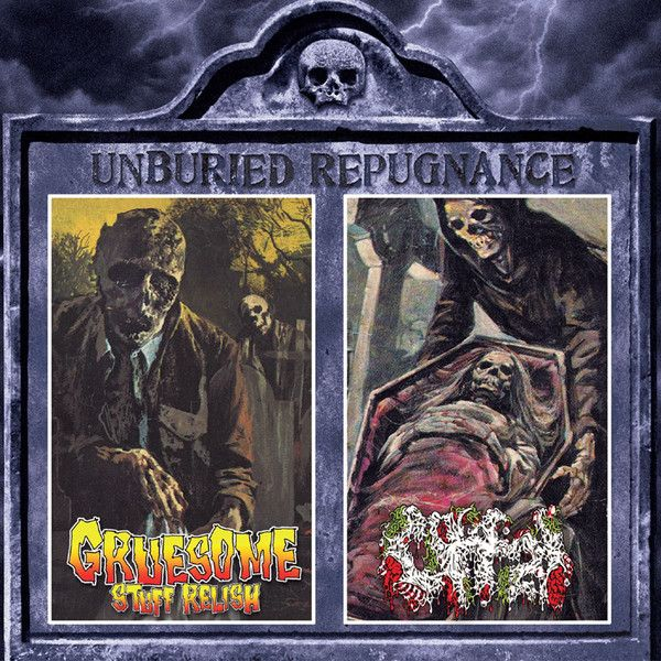 Gruesome Stuff Relish / Offal – Unburied Repugnance - CD SPLIT