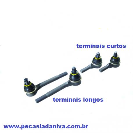Terminais de direção lada Niva kit 4 Peças (novo) Ref. 0917