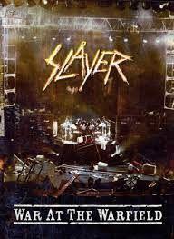 DVD - Slayer - War At Warfield peça unica