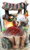 Fonte de Resina Grande com Led, Cristal e Nebulizador 30x43 cm 220 V