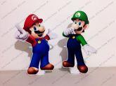 2 Displays de mesa - Super Mario