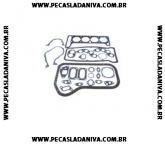 Jogo de Juntas do Motor Completo Laika 1.6 8V Com Retentores Ref. 0718
