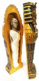 Sarcófago Estatua de Ramsés o Faraó 14cm