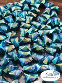 Pedra Trapezio Bluezircon 50 unidades 6mm, Otima qualidade AAA Similar a Cristal