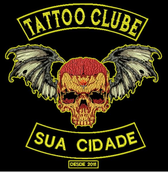 Tatto Clubbe Matriz para Bordar