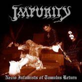 LP 12' - Impurity - Necro Infamists of  Tumulus Return - Preto
