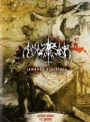 "Amazarak - ""Comando Blasphemia"" (Special Edition 10 Years) DVD & CD Nacional"