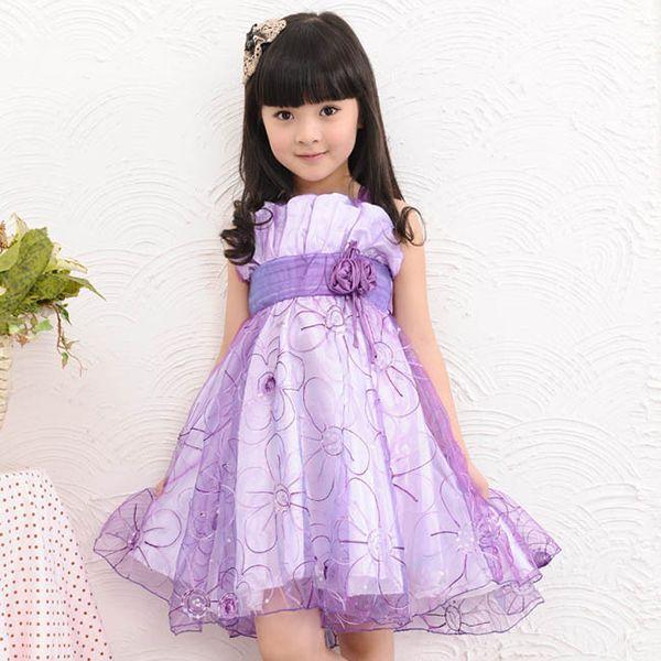 7c4b66f983c Vestido Infantil Criança De Festa Casamento Lindo - Loja de beleza ...